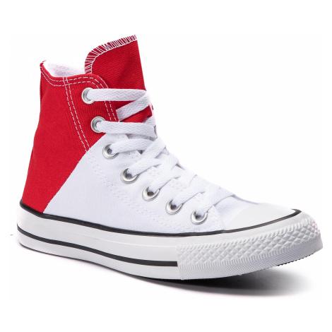 Plátěnky CONVERSE - Ctas Hi 563460C Enamel Red/White/Enamel Red