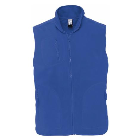 SOĽS Uni fleecová vesta NORWAY 51000241 Royal blue SOL'S