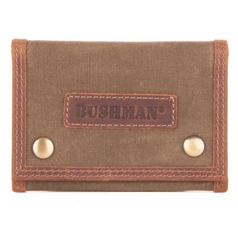 Bushman peněženka Chambri dark brown UNI
