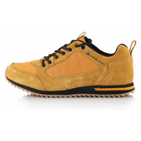 ALPINE PRO PEREDUR Unisex městská obuv UBTS228232 golden oak