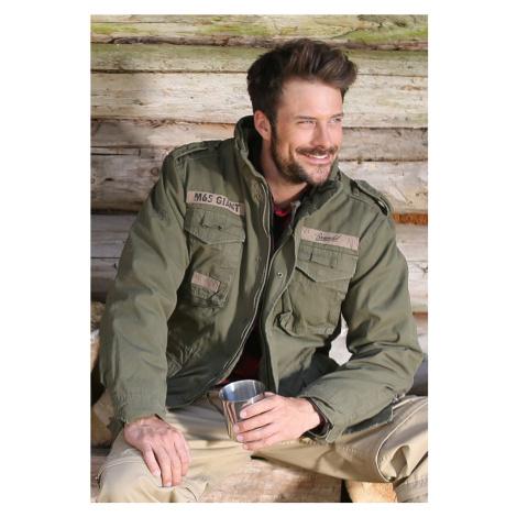 Bunda M-65 Giant Jacket - olive - BEZ VNITŘNÍ VLOŽKY!! Urban Classics