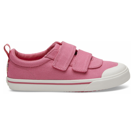 Doheny Bobblegum Pink Canvas YOUTH Sneak Toms