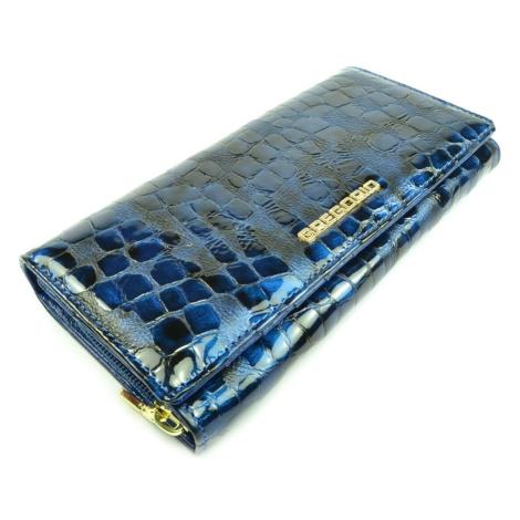Barevná dámská kožená peněženka GREGORIO