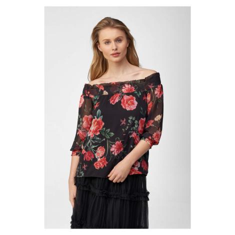 Volná květovaná halenka Orsay