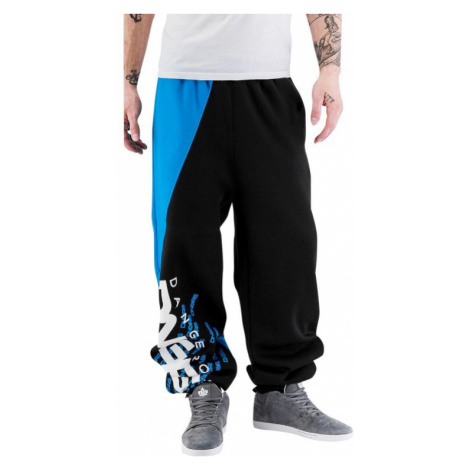 Dangerous DNGRS / Sweat Pant Noah in black tepláky pánské