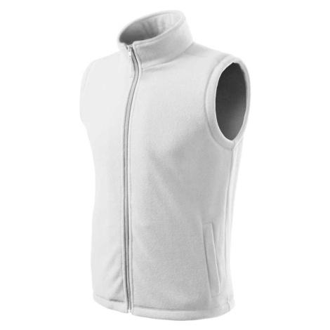 ESHOP - Vesta unisex fleece Next 518 - bílá /zdravotní ADLER