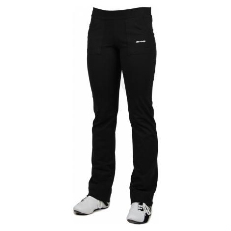 Dlouhé dámské kalhoty MAXI 0107 černá 5XL/30