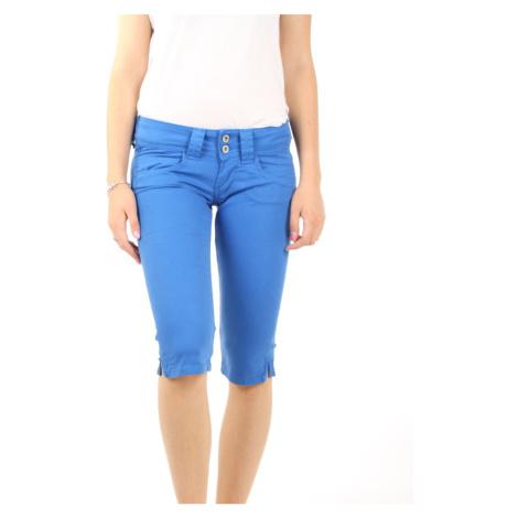 Pepe Jeans dámské modré šortky Venus