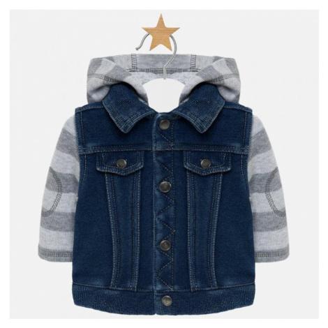 Chlapecká bunda MAYORAL 2415   modrá