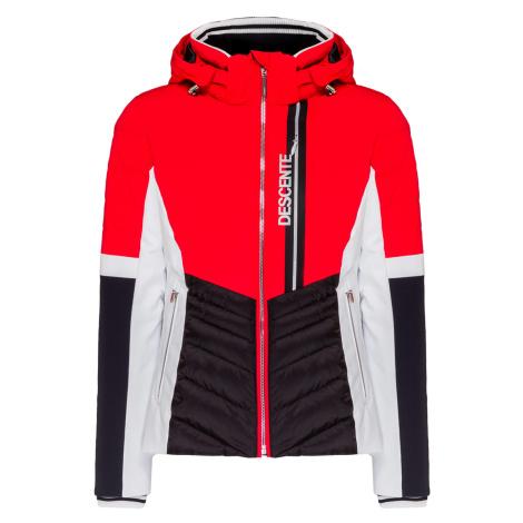 Lyžařská bunda Descente MELINA červená|šedá