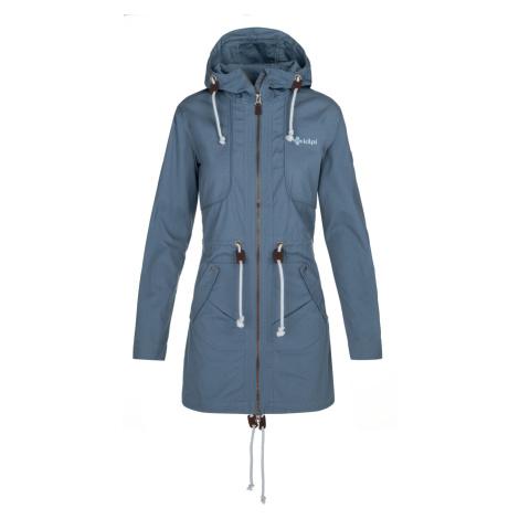 KILPI Dámský podzimní kabát PAU-W NL0081KIBLU Modrá