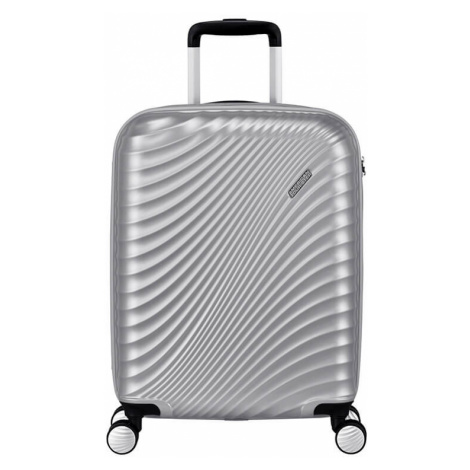 Kabinový kufr American Tourister JETGLAM SPIN.55/20 TSA - Silver 122816-1546