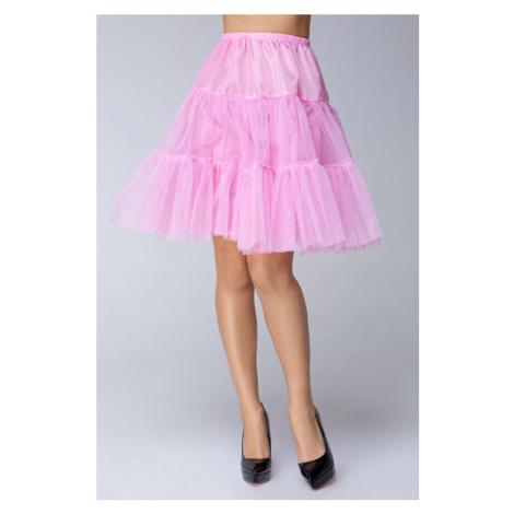 Krátká tylová spodnička pod šaty a sukně