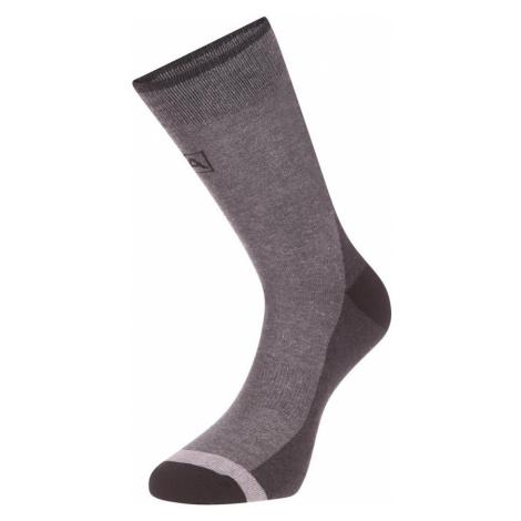 ALPINE PRO TRIN Unisex ponožky USCP059990 černá