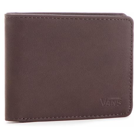 Velká pánská peněženka VANS - Drop V Bifold W WN0A31J8DRB Dark Brown 454