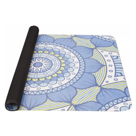 Podložka na jógu Yate Yoga Mat 1850x680x1 mm vzor B modrozelená