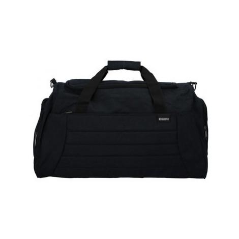 Enrico Benetti Cestovní taška černá - Riksmus Černá
