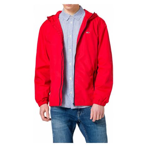 Tommy Jeans pánská červená bunda Tommy Hilfiger