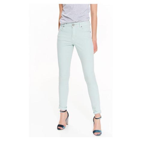 Top Secret Kalhoty dámské bledě modré