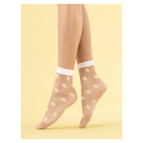 Dámské ponožky Fiore G 1115 Daisy 20 den univerzální