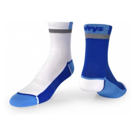 Ponožky Vavrys Trek Cyklo 2-pack modrá-bílá