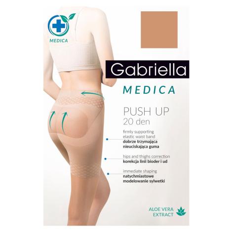 Zeštíhlující punčochové kalhoty Gabriella Medica Push-up 20 Den Code 127 4-l