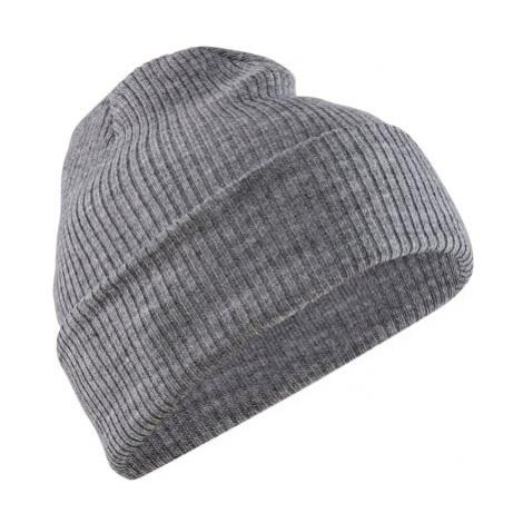 Čepice CRAFT CORE Rib Knit UNI šedá