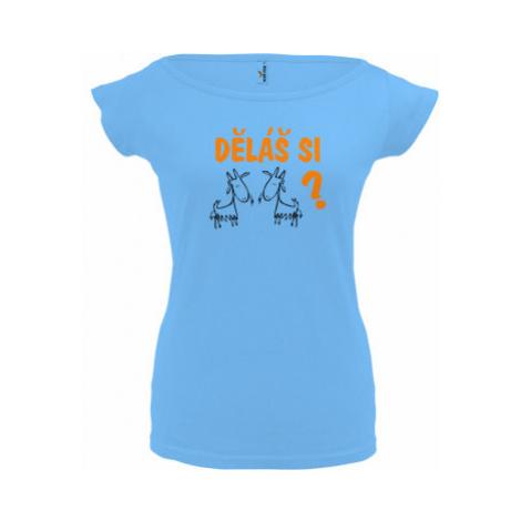 Dámské tričko Elegance Děláš si kozy