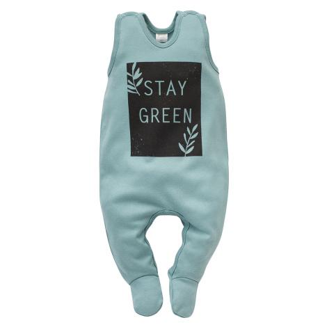 Pinokio Kids's Stay Green Sleepsuit Turquoise