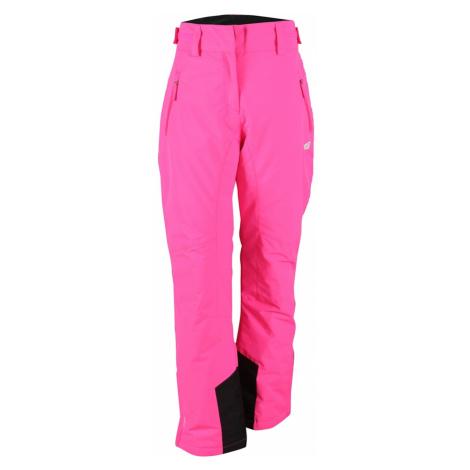 STALON - dámské lehce zateplené lyžařské kalhoty - růžové