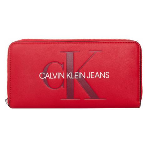 Calvin Klein dámská velká červená peněženka