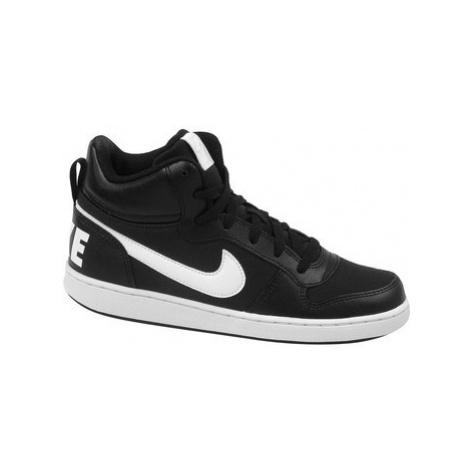 Nike Court Borough Mid PE GS Černá
