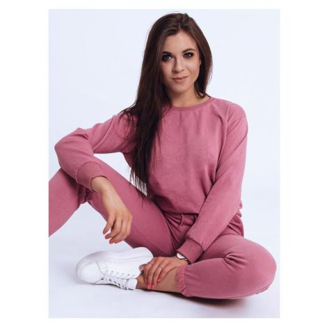 Women's sweatshirt set JUSS pink Dstreet AY0552