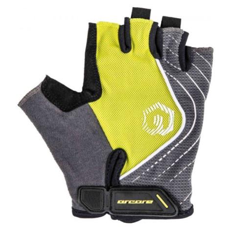Arcore JADE šedá - Krátkoprsté cyklistické rukavice