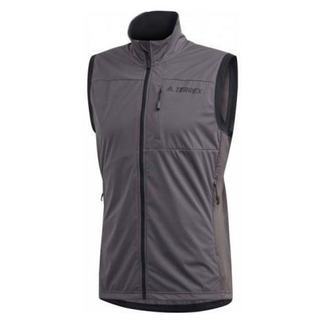 adidas XPERIOR VEST šedá - Pánská outdoorová vesta