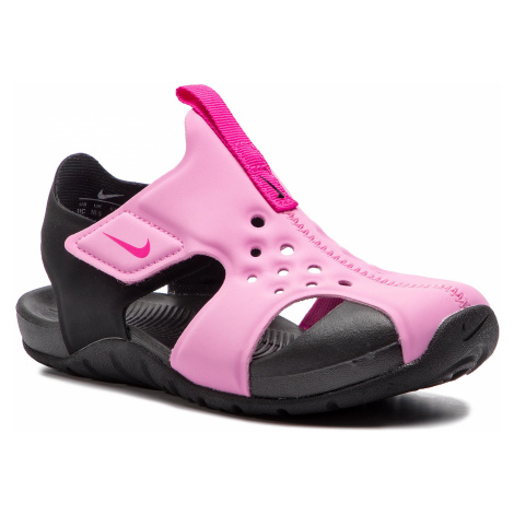 Sandály NIKE - Sunray Protect 2 (PS) 943826 602 Psychic Pink/Laser Fuchsia