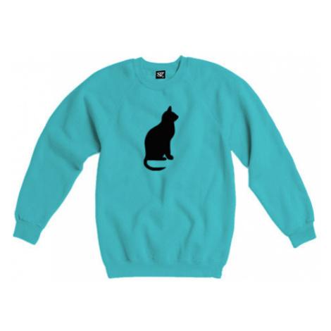 Dámská mikina bez kapuce Kočka - Shean