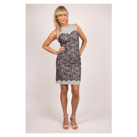 Gant dámské šaty Seersucker dress s krajkou