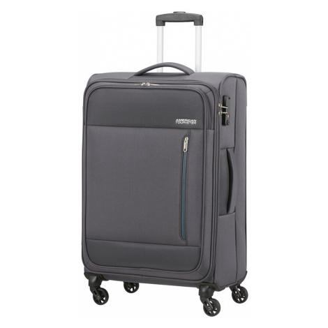Střední kufr American Tourister HEAT WAVE šedý 130668-1175