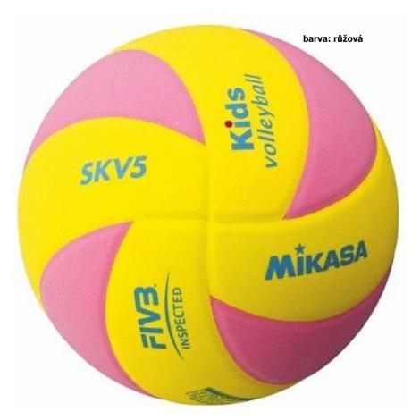 Volejbalový míč MIKASA Kids SKV5 - růžový