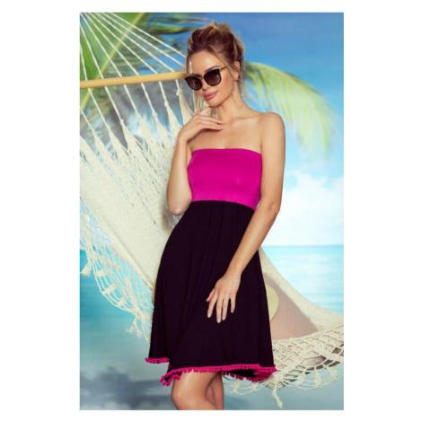 Dámská plážová tunika Eldar First Lady Sandy růžová L/XL-40/42