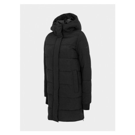 Dámský kabát H4Z20-KUDP008-20S DEEP BLACK 4F