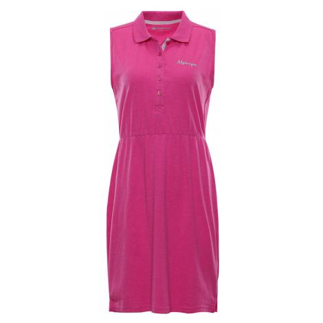 ALPINE PRO DESANA Dámské šaty LSKN154415PC Fuchsiová růžová