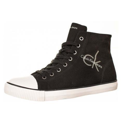 Calvin Klein pánské kotníkové boty černé