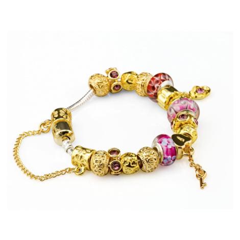 Linda's Jewelry Náramek s přívěsky Luxury line INR006