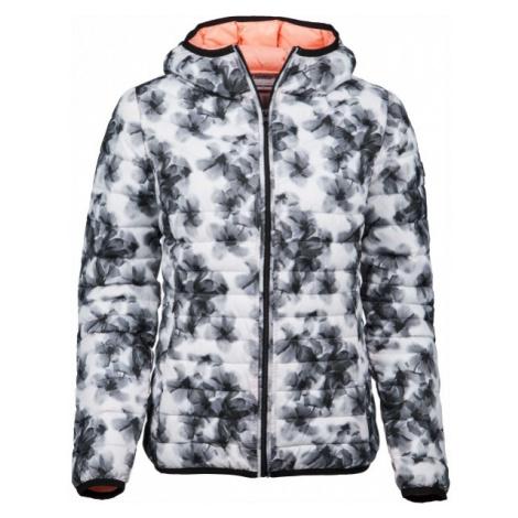 Lotto III BOMBER W CZ L bílá - Dámská zimní bunda