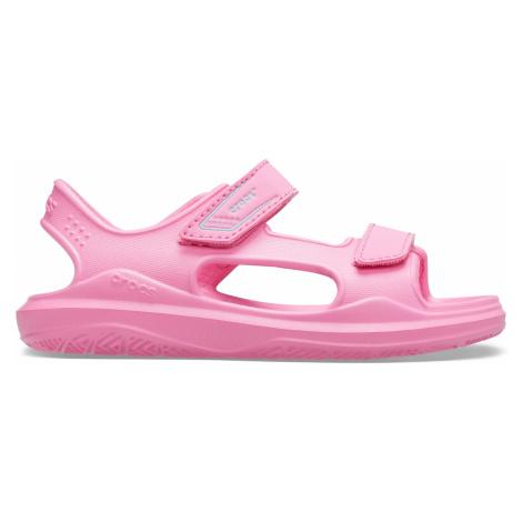 Crocs Swiftwater Expedition Sandal K Pink Lemonade/Pink Lemonade J6