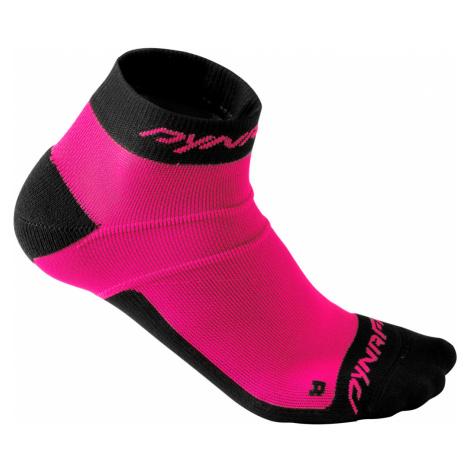 Běžecké ponožky Dynafit Vertical Mesh Footie Fluo Pink