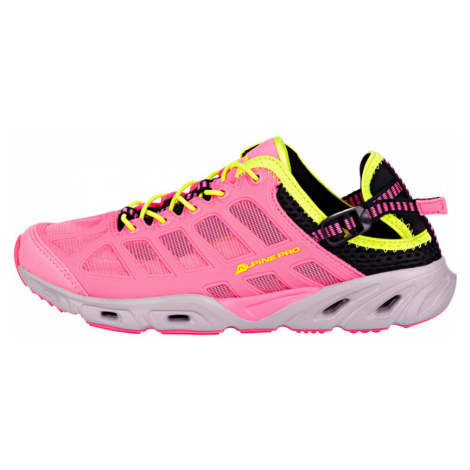 ALPINE PRO AFRIELY Unisex letní obuv UBTN166452 růžová