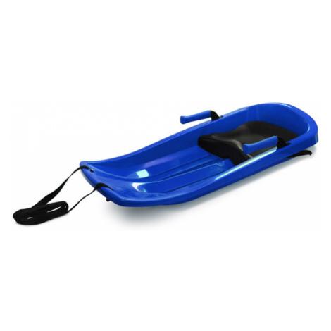 Plastkon Šampion (EXTREME) plastové boby s brzdami a sedátkem Barva: modrá